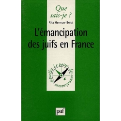 L'EMANCIPATION DES JUIFS EN FRANCE