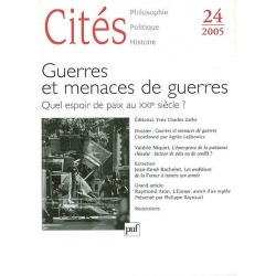CITES 23/2006 GEOPOLITIQUE DES CONFLITS ACTUELS