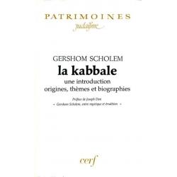 LA KABBALE,UNE INTRODUCTION :ORIGINES,THEMES ET  BIOGRAPHIES
