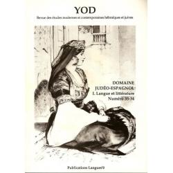 YOD NO 33-34 - DOMAINE JUDEO-ESPAGNOL I
