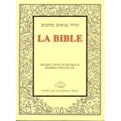 LA BIBLE SINAI PETIT FORMAT BROCHEE
