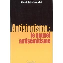 ANTISIONNISME:LE NOUVEL ANTISEMITISME