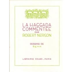 LA HAGGADA COMMENTEE PAR ROBERT NERSON (DEFRAICHIE)