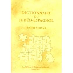 DICTIONNAIRE DU JUDEO-ESPAGNOL