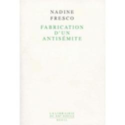 FABRICATION D'UN ANTISEMITE