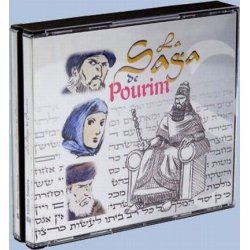 LA SAGA DE POURIM - CD AUDIO
