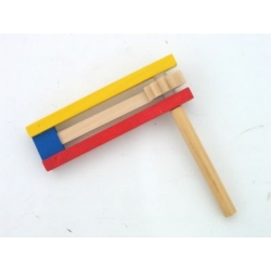 WOODEN COLORFUL GROGGER