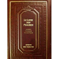 LE LIVRE DES PSAUMES HEB/FR/PH - MOYEN