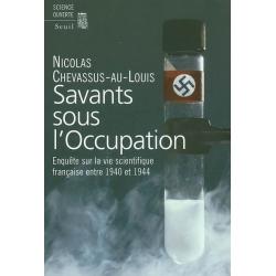 SAVANTS SOUS L'OCCUPATION