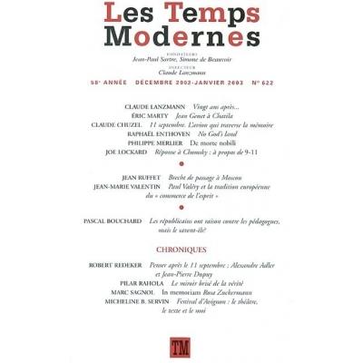LES TEMPS MODERNES 622(JANVIER 2003)