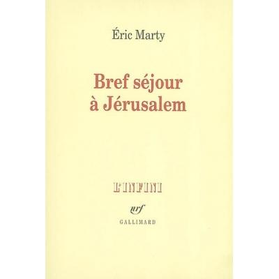 BREF SEJOUR A JERUSALEM
