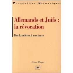 ALLEMANDS ET JUIFS : LA REVOCATION