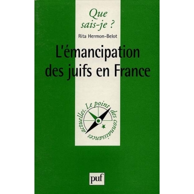 L'EMANCIPATION DES JUIFS EN FRANCE