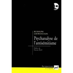PSYCHANALYSE DE L'ANTISEMITISME