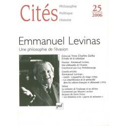 EMMANUEL LEVINAS : UNE PHILOSOPHIE DE L'EVASION