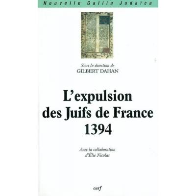 L'EXPULSION DES JUIFS DE FRANCE : 1394
