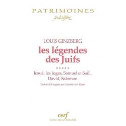 LES LEGENDES DES JUIFS VOL.5