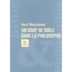 UN COUP DE BIBLE DANS LA PHILOSOPHIE