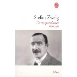 STEFAN ZWEIG CORRESPONDANCE 1920 1931