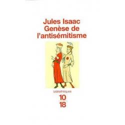 GENESE DE L'ANTISEMITISME