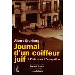 JOURNAL D'UN COIFFEUR JUIF A PARIS SOUS L'OCCUPATION