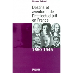 DESTINS ET AVENTURES DE L'INTELLECTUEL JUIF EN FRANCE