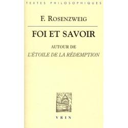 FOI ET SAVOIR : AUTOUR DE L'ETOILE DE LA REDEMPTION