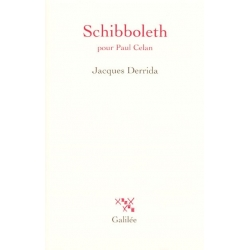 SCHIBBOLETH : POUR PAUL CEYLAN