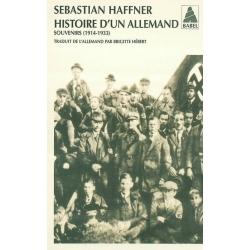 HISTOIRE D'UN ALLEMAND - SOUVENIRS 1914-1933