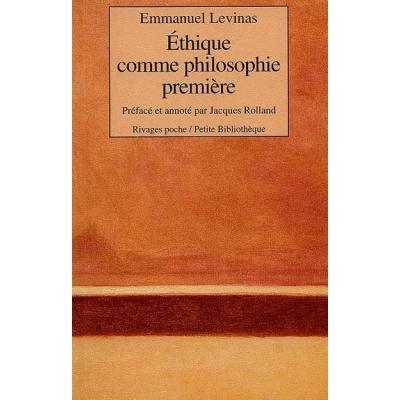 ETHIQUE COMME PHILOSOPHIE PREMIERE