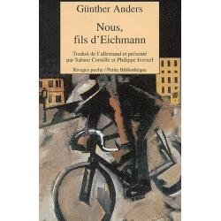 NOUS FILS D'EICHMANN