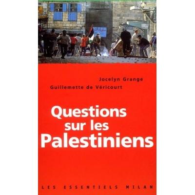 QUESTIONS SUR LES PALESTINIENS