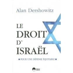 LE DROIT D'ISRAEL