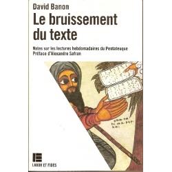 LE BRUISSEMENT DU TEXTE
