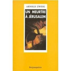 UN MEURTRE A JERUSALEM