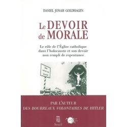 LE DEVOIR DE MORALE