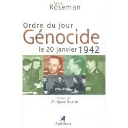 ORDRE DU JOUR GENOCIDE 20 JANVIER 1942