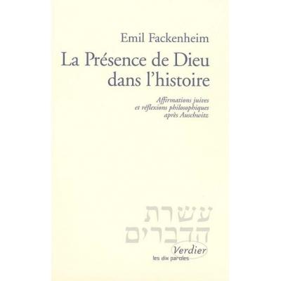 LA PRESENCE DE DIEU DANS L'HISTOIRE