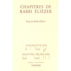 CHAPITRES DE RABBI ELIEZER