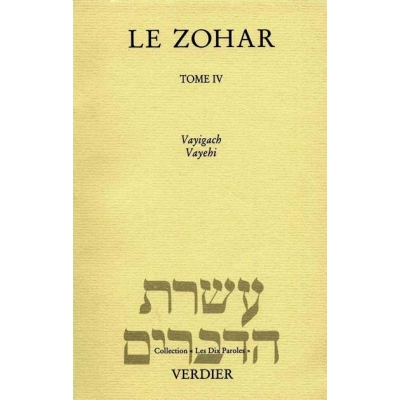 LE ZOHAR GENESE T.4