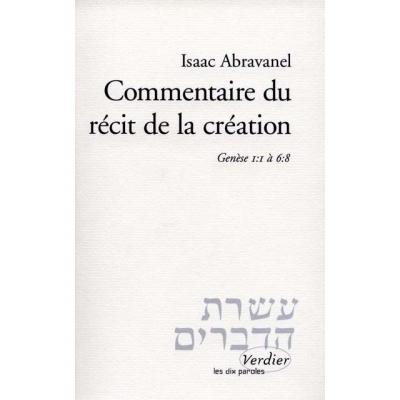 COMMENTAIRE DU RECIT DE LA CREATION