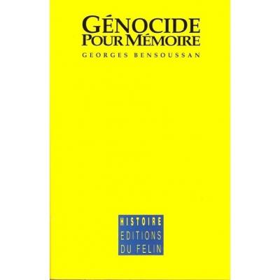 GENOCIDE POUR MEMOIRE