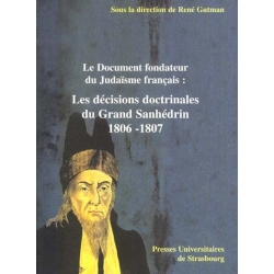 LES DECISIONS DOCTRINALES GRAND SANHEDRIN 1806-1807