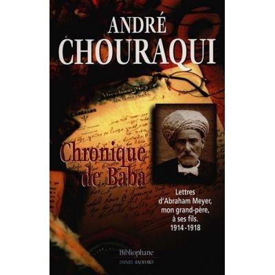 CHRONIQUE DE BABA.