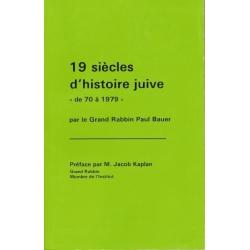 19 SIECLES D'HISTOIRE JUIVE