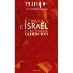 ECRIVAINS D'ISRAEL : LA NOUVELLE GENERATION