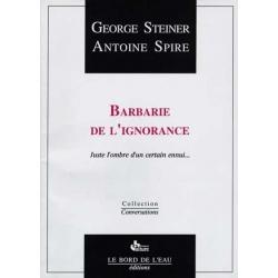 BARBARIE DE L'IGNORANCE