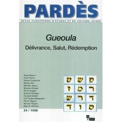 GUEOULA  DELIVRANCE  SALUT  REDEMPTION - PARDES N 24 1998