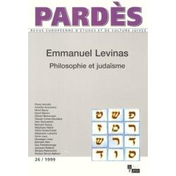 EMMANUEL LEVINAS : PHILOSOPHIE ET JUDAISME