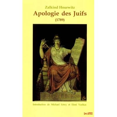 APOLOGIE DES JUIFS